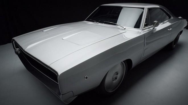 Chiếc Dodge Charger Maximus được bán đấu giá.