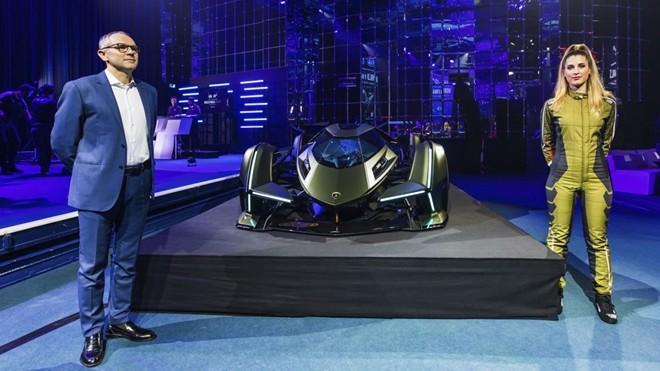 "Ra mắt ""siêu xe"" dành cho game thủ Lamborghini V12 Vision Gran Turismo."