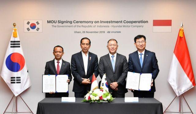 Nhà máy đầu tiên của (riêng) Hyundai ở khu vực ASEAN sẽ được đặt tại Indonesia.