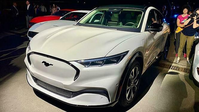 Ford Mustang Mach-E, SUV chạy điện ra mắt tại Mỹ. Ảnh: Quartz