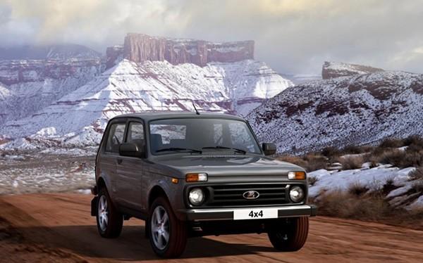 Lada Niva phiên bản mới.