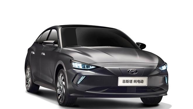 Hyundai Elantra phiên bản chạy điện còn có tên Lafesta EV tại Trung Quốc
