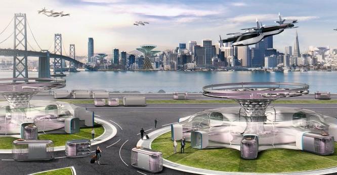 Hình ảnh được Hyundai hé lộ về thành phố của nhà sản xuất ô tô trong tương lai.