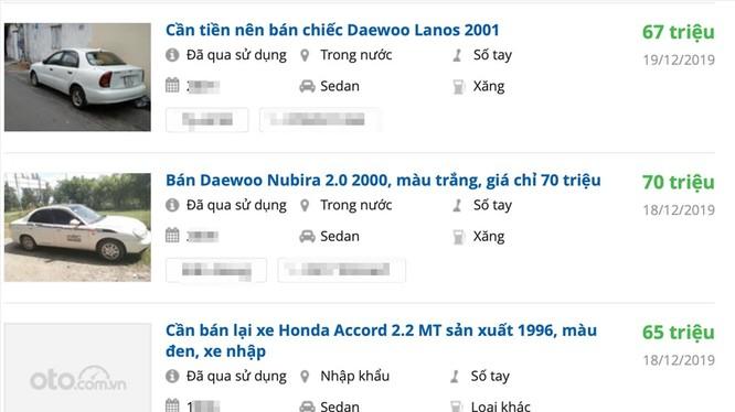 Nhiều mẫu xe có giá chỉ ngang bằng xe máy. Ảnh ST.