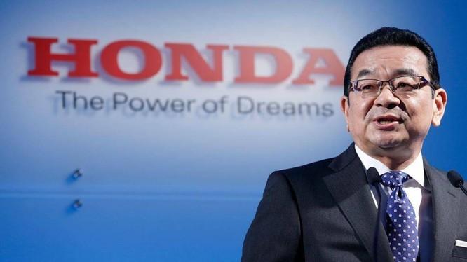 Ông Takahiro Hachigo - CEO Honda Nhật Bản. Ảnh: CAR Magazine
