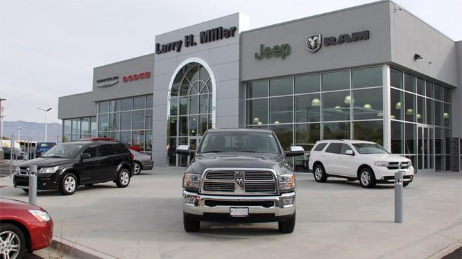 Một đại lý Chrysler-Jeep-Dodge-Ram ở bang Utah, Mỹ. Ảnh: Digital Dealer