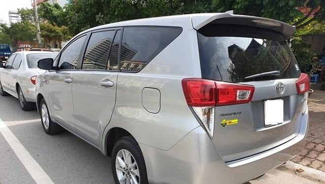 Toyota Innova đã qua sử dụng đang có mức giá hợp lý trong mùa mua sắm cuối năm