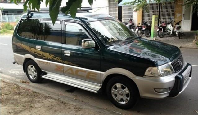 Toyota Zace vẫn được săn lùng trên thị trường xe cũ sau hơn 15 năm sử dụng