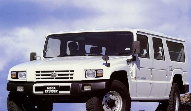 Toyota Mega Cruiser hiện đã không còn được sản xuất