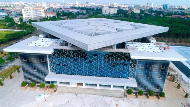 Trung tâm Văn hóa xứ Đông ở TP. Hải Dương - địa điểm dự kiến tổ chức Hội thảo Hợp tác Phát triển CNTT Việt Nam 2020. Ảnh: báo Hải Dương