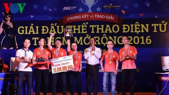TPHCM là một địa phương có thế mạnh về thể thao điện tử. Ảnh: VOV