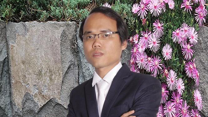 Đồng tác giả Chữ Việt Nam song song 4.0 Kiều Trường Lâm. Ảnh: NVCC.