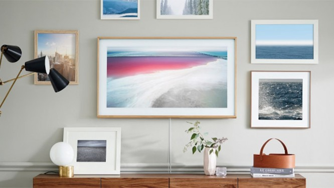 tivi Samsung nhìn như một bức tranh