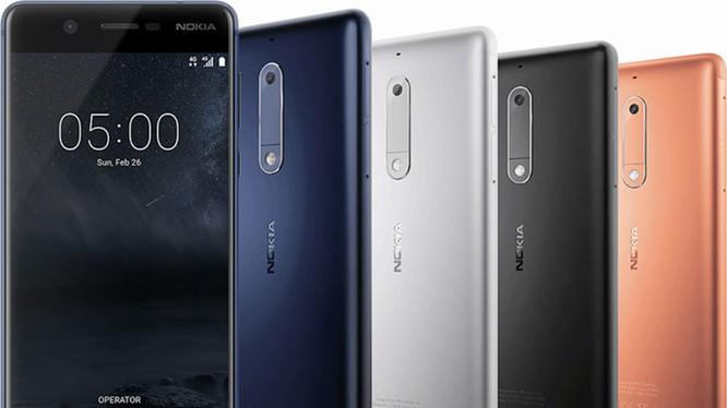 Nokia 3 và Nokia 5 có ưu điểm hơn Nokia 6 ở khe cắm microSD riêng