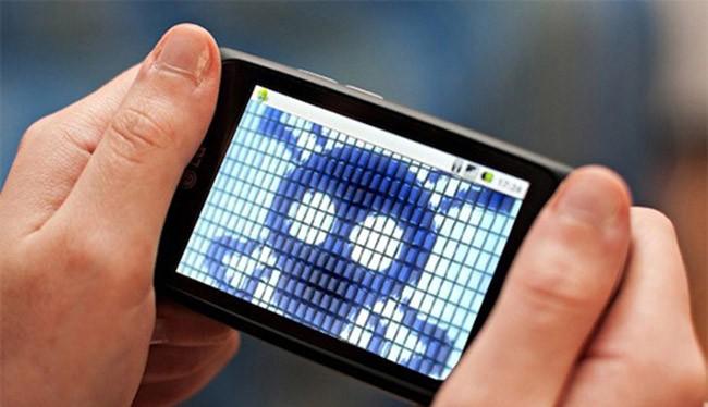 """Điện thoại thông minh là thiết bị bị """"dính"""" phần mềm độc hại nhiều nhất"""