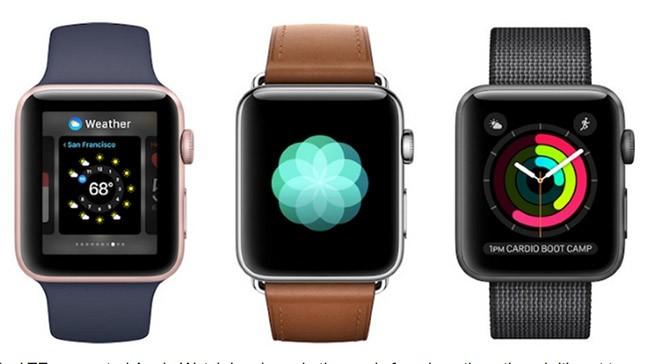 Apple Watch 3 với khe cắm SIM có thể dùng như một smartphone