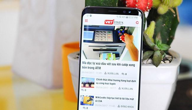 Galaxy S8 đã có mặt tại Việt Nam từ tối 8/4