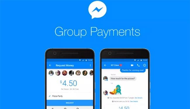 Người dùng Messenger có thể chuyển tiền theo nhóm