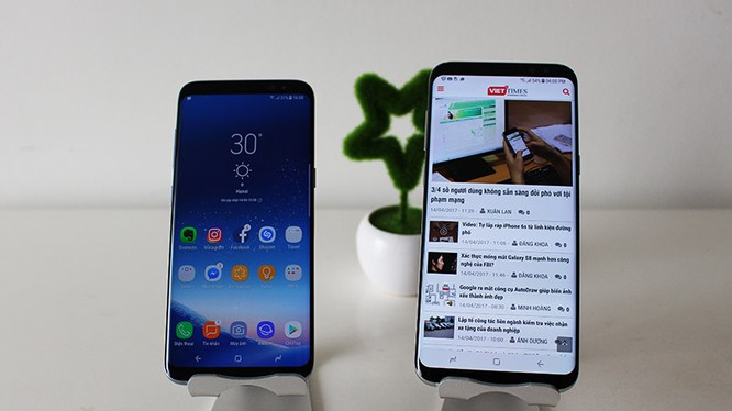 Galaxy S8 Plus xách tay có mức giá 19 triệu đồng