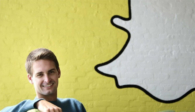 CEO Evan Spiegel của Snapchat