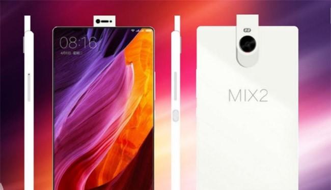 Mi Mix 2 được đồn đoán có tỷ lệ màn hình trên thân máy lên đến 99%