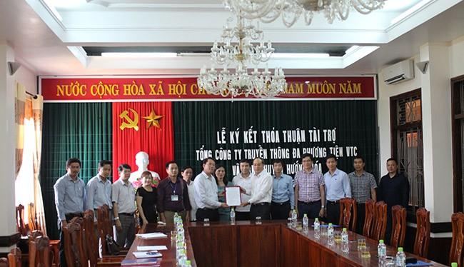Lễ ký thỏa thuận tài trợ xây dựng điểm trường mầm non tại Hướng Hóa, Quảng Trị