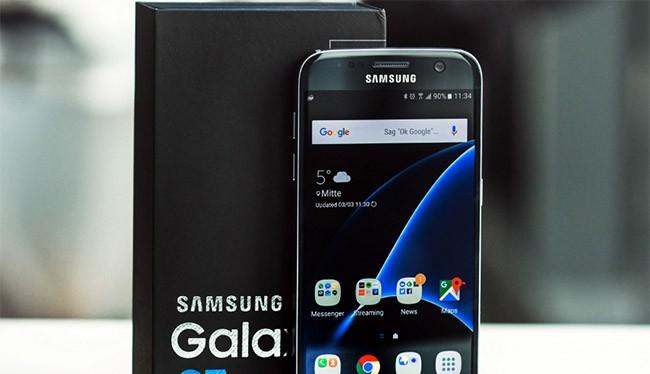 Galaxy S7 là smartphone của Samsung được sử dụng phổ biến nhất thế giới
