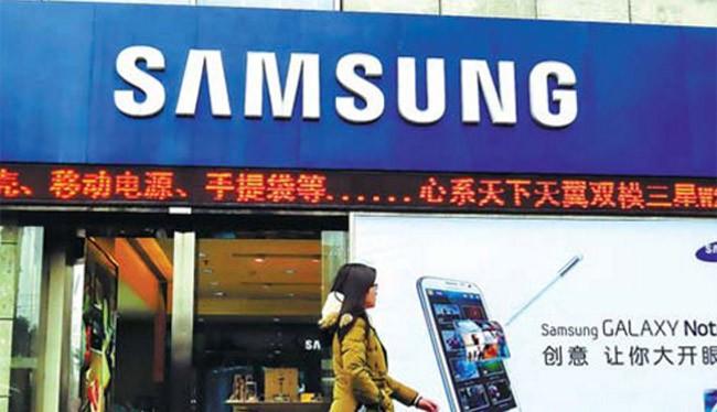 Samsung chỉ còn chiếm 3,3% thị phần smartphone tại Trung Quốc