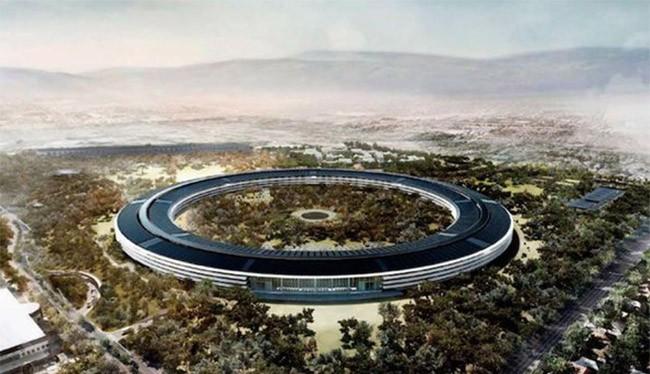 Trụ sở của Apple đang hoàn thiện phần xây thô