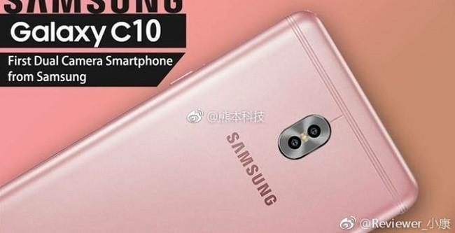 Galaxy C10 là điện thoại thuộc phân khúc tầm trung của Samsung