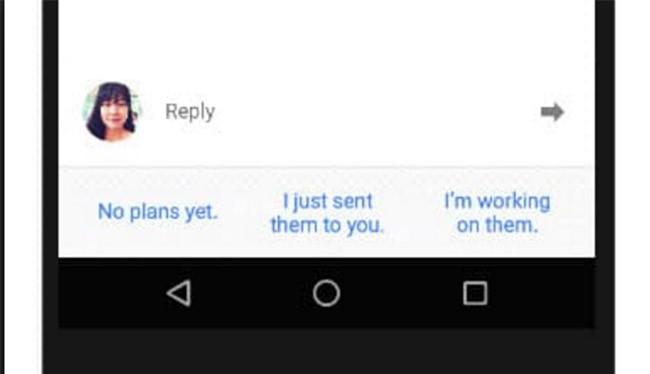 Tính năng Smart Reply sẽ được đưa vào Gmail và Allo trên iOS và Android