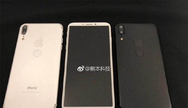 Hình ảnh iPhone 8 trên mạng xã hội Weibo