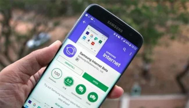 Trình duyệt Internet của Samsung vốn chỉ hỗ trợ các điện thoại Galaxy