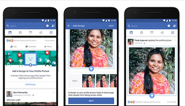 Ảnh Profile của người dùng Facebook sẽ được bảo vệ