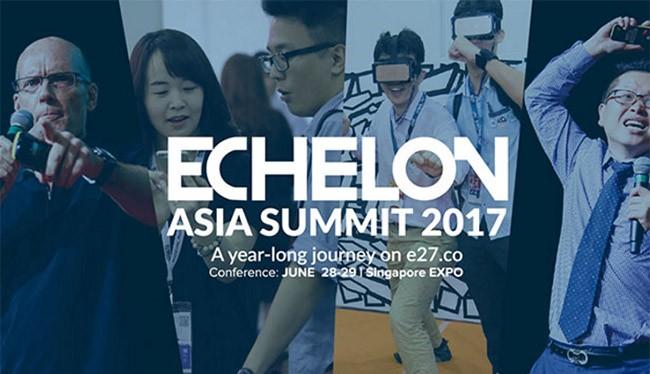 Echelon Asia Summit là sự kiện thường niên dành cho các công ty khởi nghiệp