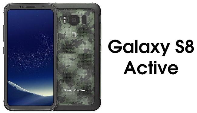 Galaxy S8 Active có độ bền đạt chuẩn quân đội Mỹ