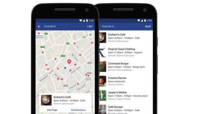 Tính năng tìm điểm phát wifi của Facebook đã được mở rộng ở tất cả các quốc gia