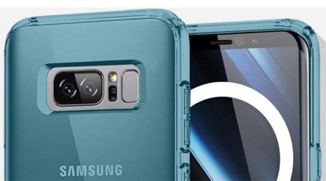 Note 8 sẽ vẫn có máy quét vân tay đặt ở phía mặt lưng