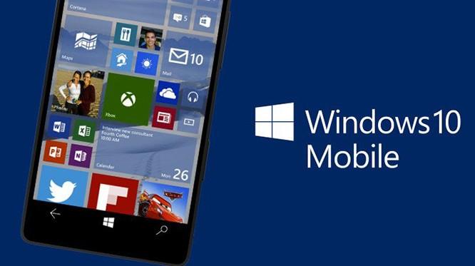 Microsoft đang phát triển smartphone chạy Windows 10