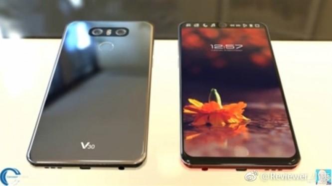 LG V30 lộ hình ảnh trước ngày ra mắt