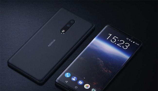 Ảnh dựng Nokia 8 dựa trên tin đồn