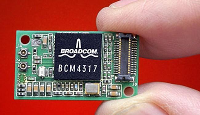 Chip Wi-Fi do Broadcom sản xuất