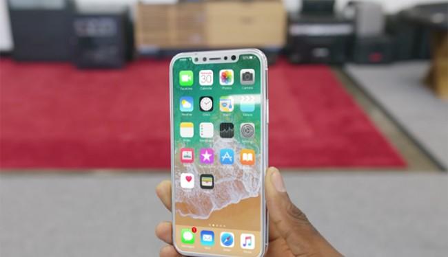 Mô hình iPhone 8 của Apple (ảnh: Business Insider)