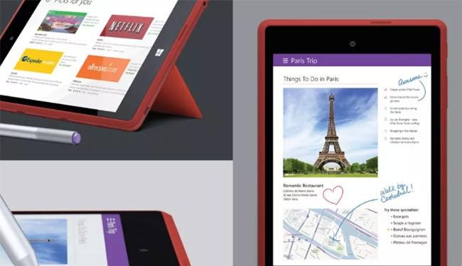 Máy tính bảng Surface Mini (ảnh: The Verge)