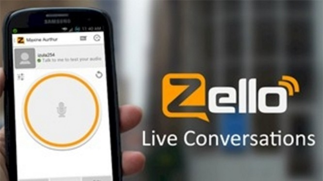 Ứng dụng Zello (ảnh: Business Review)
