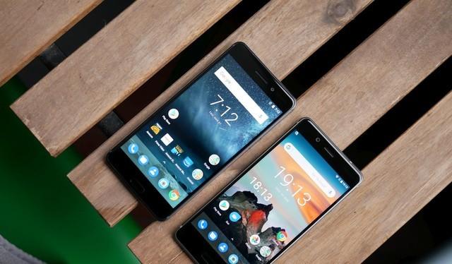 Nokia 6 và Nokia 8 (ảnh: Phone Arena)