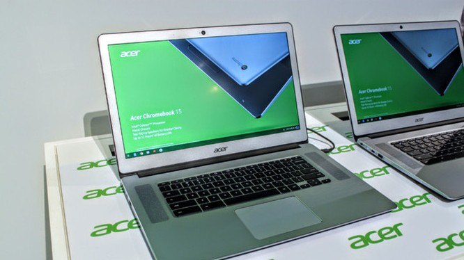 Acer Chromebook 15 (ảnh: Androiod Authority)