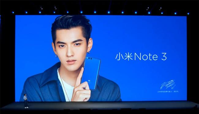 CEO Xiaomi Lin Bin giới thiệu Mi Note 3
