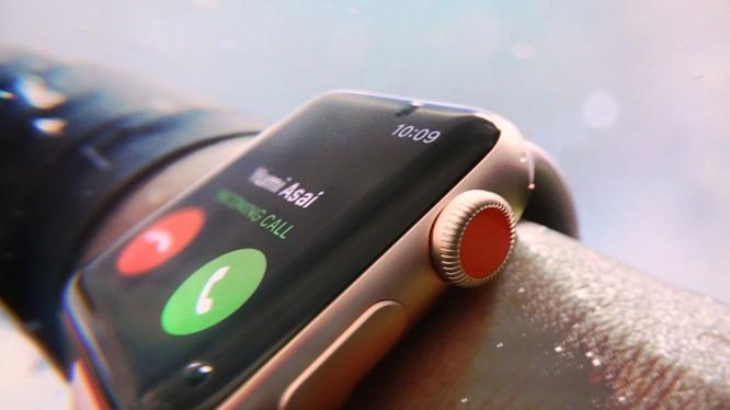 Apple Watch thế hệ thứ 3 (ảnh: The Verge)