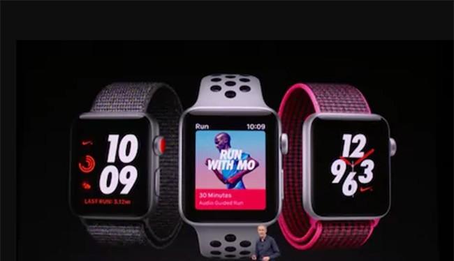 Đồng hồ Apple Watch 3 (ảnh: The Telegraph)